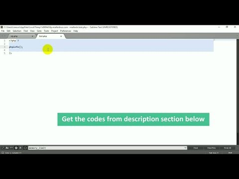 Get orginal/default php.ini file of your Web Host