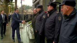 შინაგან საქმეთა მინისტრმა ხონში პოლიციის ახალი შენობა გახსნა