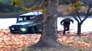 North Korean soldier runs for border in dramatic escape video