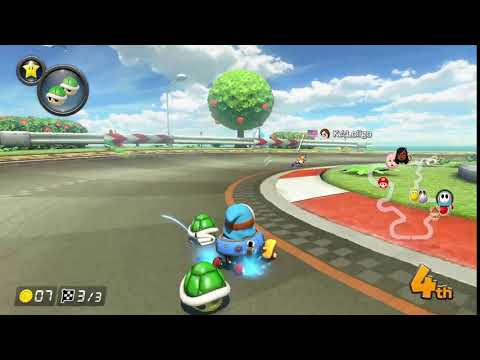 Green shell gone wrong - Mario Kart 8 Deluxe clip