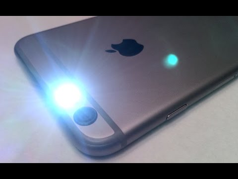 iPhone 6 / 6S Plus TIPS & TRICKS - Call / Text Indicator LED Flash Light Setup