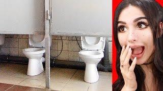 AWKWARD Bathroom Design FAILS