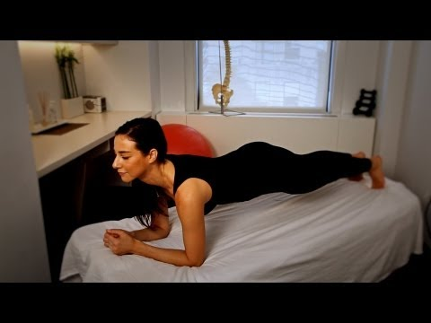 How to Do a Plank | Back Pain Relief