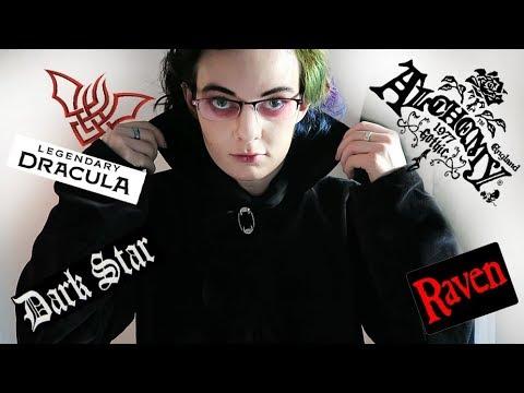 GOTHIC CLOTHING HAUL: Alchemy Gothic, Raven and Legendary Dracula