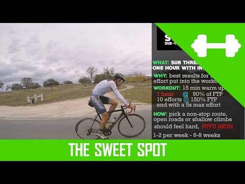 (Cycling Workouts) The Sweet Spot