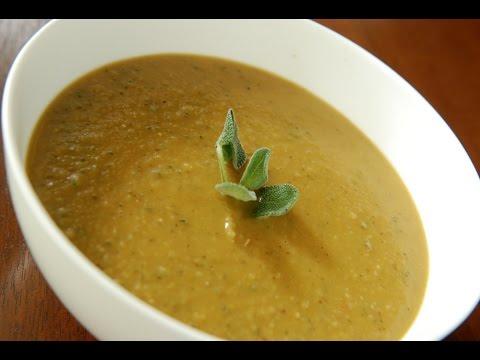 Vegan Foods: Coconut Split Peas Soup (Dhaal)