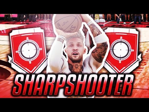 How to get Sharpshooter/Stretch Big Grand Badge! *UPDATED* (Fastest Way) (After Patch 12) (NBA 2K17)