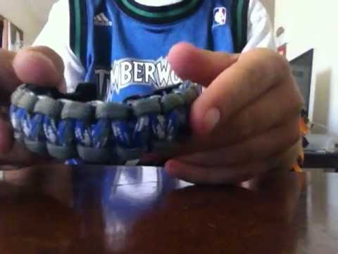 My Homemade Paracord Bracelet Collection