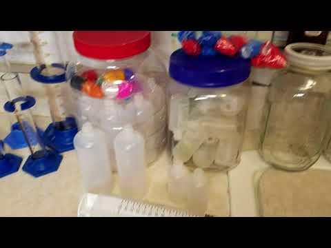 DIY E-juice /How I make it Part 2; Mixing Supplies