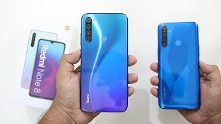 Redmi Note 8 Unboxing India I Realme 5 Vs Redmi Note 8 Comparison