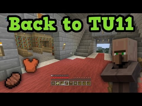 Minecraft Xbox 360 - BACK TO TU11 OLD TUTORIAL WORLD