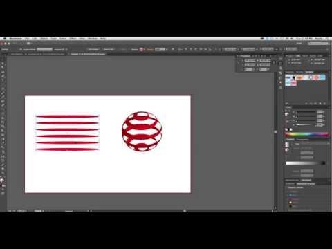 How to make Globe Design using Revolve in Adobe Illustrator CC