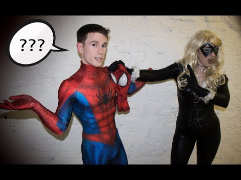 How to get on a Lycra suit by yourself Ft  Spider-Man