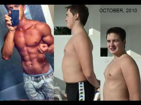 15 Year Old Body Transformation From Fat to Ripped