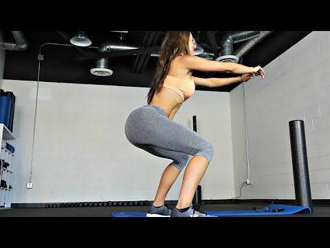 Booty Builders BodyWeight Squat Challenge - Over 100reps. Try it!