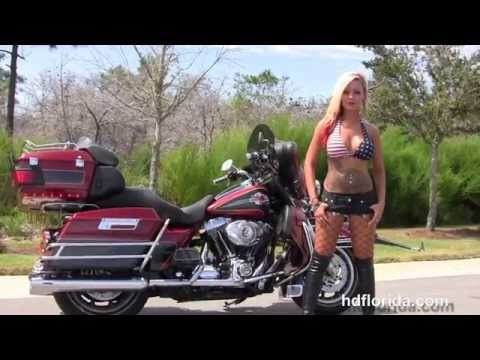 Used 2007 Harley Davidson Ultra Classic Motorcycles for sale in Crestview FL