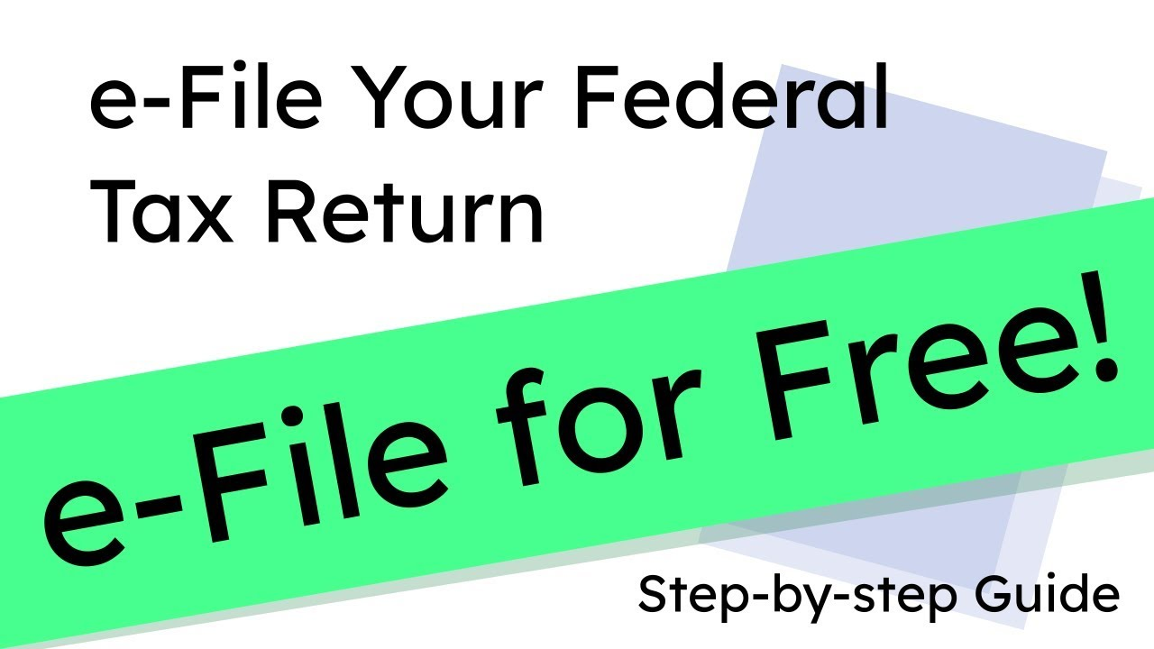 e-File your 2019 Federal Tax Return for Free! (Form 1040 & Schedule A)