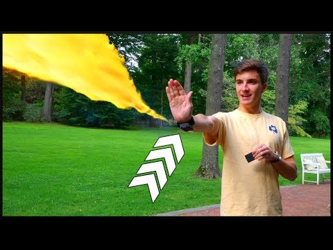 This Wrist-Mounted Flamethrower is AWESOME!