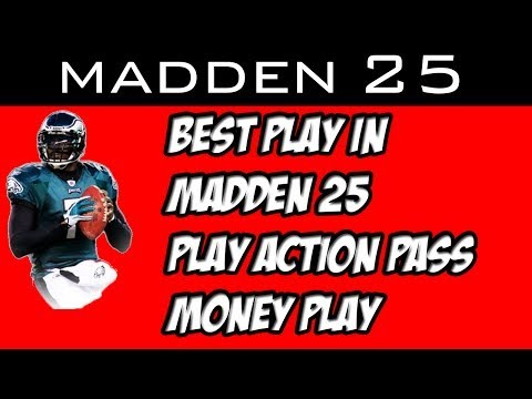 Madden 25: Best Play in Madden -25 Pass Money Play