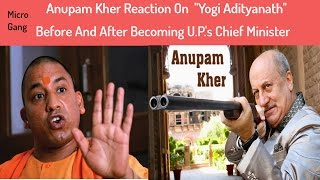 Special Chamcha : Anupam Kher On Yogi Adityanath | So_Sorry