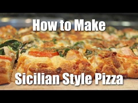Sicilian Style Pizza Dough Recipe - How to Make Pizza Romano