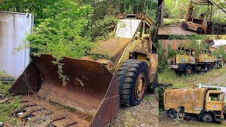Lostplaces: Fahrzeugfriedhof in alter Zuckerfabrik? (ehemalige Zuckerfabrik)