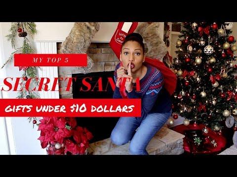 DIY CHRISTMAS GIFT IDEAS | DIY SECRET SANTA GIFT IDEAS UNDER$10.