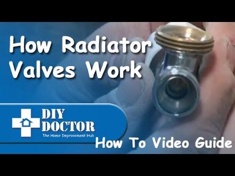How radiator valves work