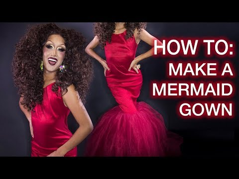 How to Sew A Big Mermaid Gown!