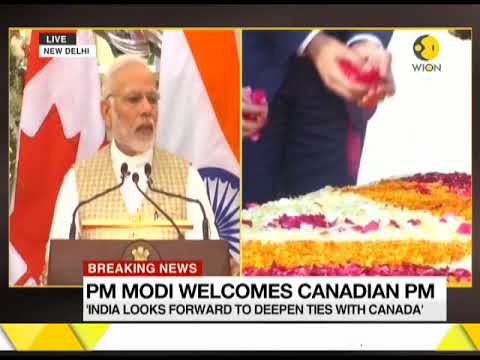 Watch PM Modi address at India-Canada joint statement in Hyderabad house
