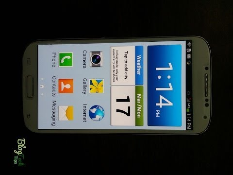 Disable Easy mode Samsung Galaxy S4
