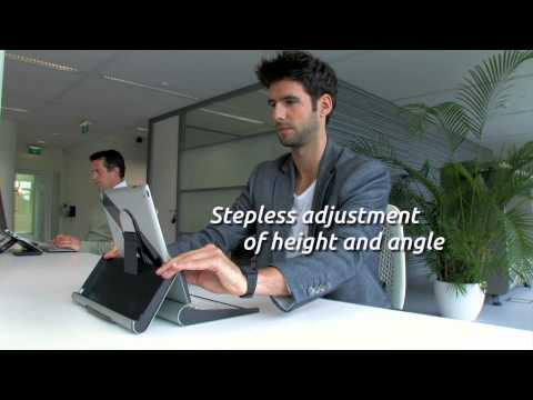 BakkerElkhuizen TabletRiser: work smarter with your iPad/tablet