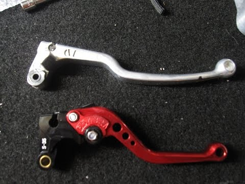 How to Install Shorty Levers on 09 Suzuki GSXR 600