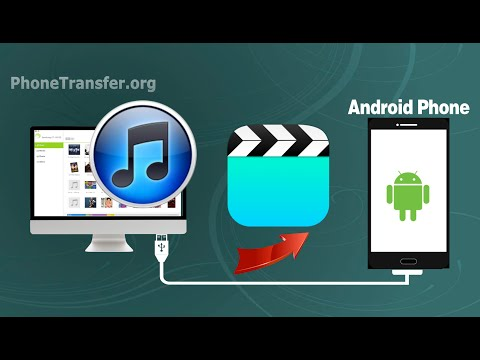 How to Sync Videos from iTunes to Android Phone, Transfer iTunes Movies to Android Device