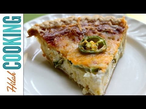 How to Make Jalapeño Popper Quiche | Hilah Cooking