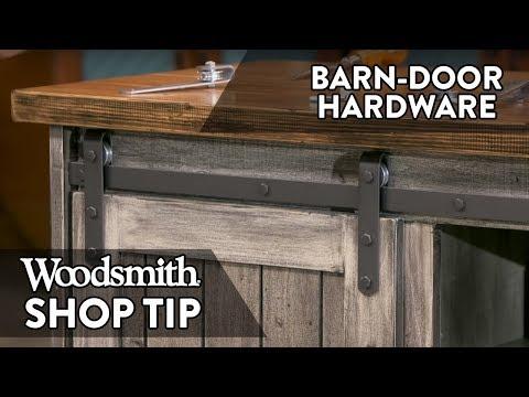 How-To Make Barn Door Hardware