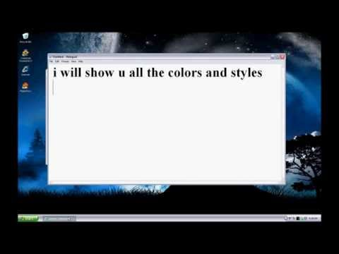 How to Change Windows XP Toolbar Color