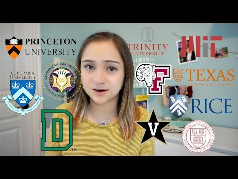 i got into my dream school // 2018 college decision reactions (princeton, columbia, MIT, and more!)