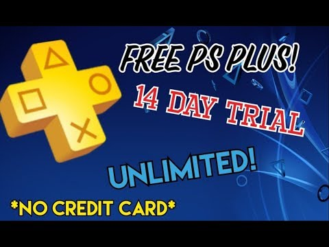 [WORKING] HOW TO GET 14 DAY PS PLUS FOR FREE! *AFTER PATCH*