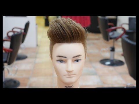 Pompadour Undercut - Men's Haircut Tutorial - TheSalonGuy
