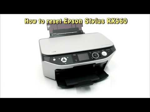 Reset Epson RX560 Waste Ink Pad Counter
