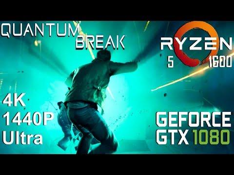Quantum Break 4K/1440P Test On Gigabyte GTX 1080 + Ryzen 5 1600, Ultra Settings