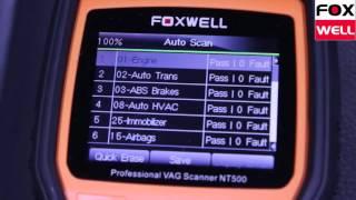 Foxwell Nt500 Volkswagen - Audi Scan Tool