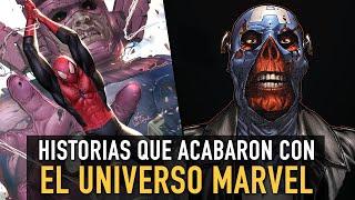 Historias que acabaron con el Universo Marvel