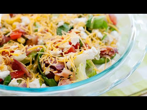 Summer Cobb Salad Dip