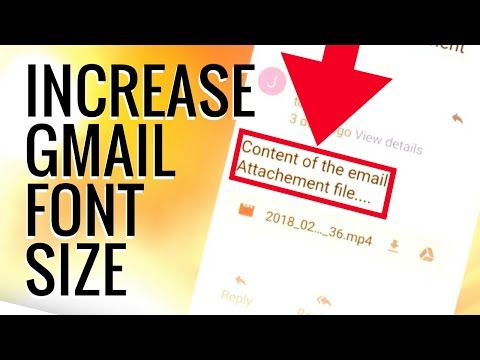 Android Gmail Increase Font Size [SOLVED]