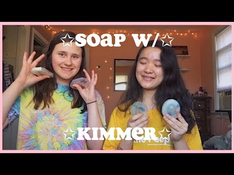 aesthetic tryhards try making clear soap / DIY's with kimmer
