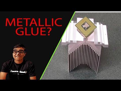 Metallic Glue: No More Soldering and Welding