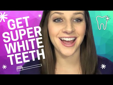 How to Get Super White Teeth