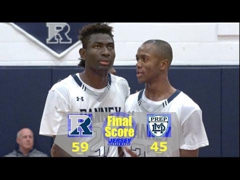 Ranney - 59 Mater Dei Prep - 45 | Scottie Lewis' 1,000th Career Point | Boys Basketball